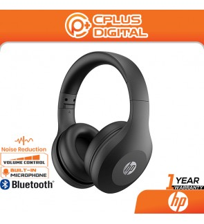 HP Bluetooth On-Ear Headset 500 with Noise Reduction Microphone- USB-C Charging - Foldable and Portable Design