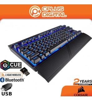 CORSAIR K63 Wireless Mechanical Gaming Keyboard,87 Keys , Backlit Blue Led, Cherry MX Red - Quiet & Linear