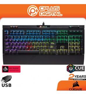 Corsair STRAFE RGB MK.2 Mechanical Gaming Keyboard CHERRY MX Red/CHERRY MX Silent