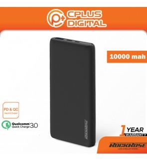 Rockrose Oasis 10 Pro 10000 mAh PD & QC 3.0 with Power Indicator Power Bank