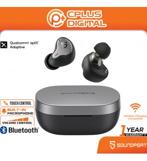SoundPEATS H1 Hybrid Dual Drivers Bluetooth 5.2 Qualcomm QCC3040 Earbuds : Best Sounding Hybrid Dual-Driver TWS Earbuds