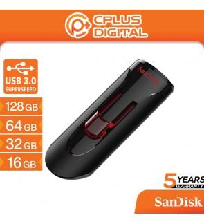 Sandisk Cruzer Glide Retractable USB Pendrive Flash Drive CZ600 USB3.0 (16GB/32GB/64GB/128GB)