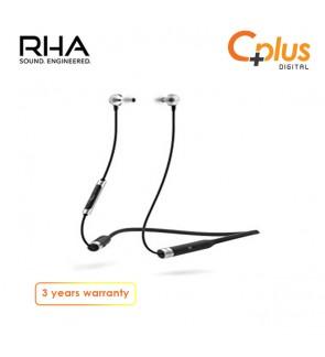 RHA MA390 Wireless In-Ear Headphones: Sweatproof Noise Isolating Bluetooth Earbuds