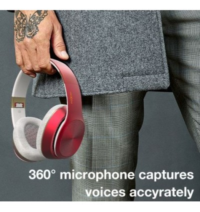 MOXOM Noise Isolating Bass Wireless V5.0 Hi-Fi Super Real Stereo Gaming Bluetooth Headset MX-WL05