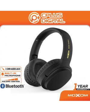 MOXOM Street Rock Bass Wireless V5.0 Hi-Fi Super Real Stereo Gaming Bluetooth Headset MX-WL06