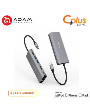 Adam Elements Casa Hub A01 USB 3.1 Type-C 6 in 1 Multi-Function Hub