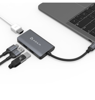 Adam Element CASA Hub A01M USB 3.1 USB Type C (USB-C) 4 port Hub