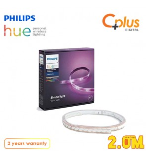 Philips Hue Lightstrip Plus Extension 2Meter (Compatible with Amazon Alexa Apple HomeKit and Google Assistant)
