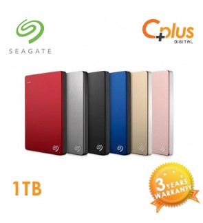 Seagate Backup Plus Slim 1TB Portable External Hard Drive USB 3.0