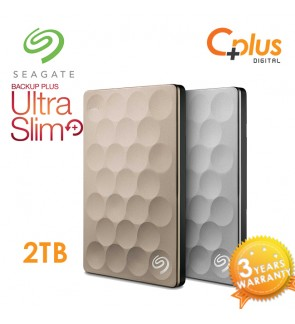 Seagate Backup Plus Ultra Slim 2TB Portable External Hard Drive USB 3.0