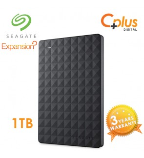 Seagate Expansion 1TB Portable External Hard Drive - Black