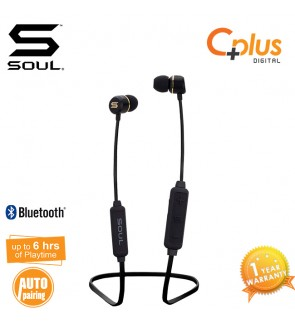 SOUL PRIME WIRELESS High Performance Earphones with Bluetooth V4.1