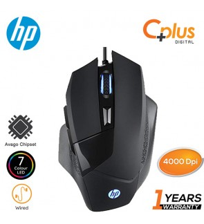 HP G200 High Performance 7 LED 4000DPI Gaming Mouse