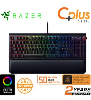 Razer BlackWidow Elite:Chroma RGB Esports Gaming Keyboard (Orange Switches) **Tactile and Silent**