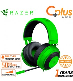 Razer Kraken Pro V2: Lightweight Aluminum Headband - Retractable Mic - In-Line Remote - Gaming Headset Works With PC, PS4 & Mobile Devices