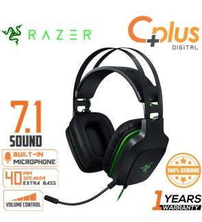 Razer Electra V2 USB 7.1 Surround Sound Gaming Headset With Microphone Works with PC & PS4