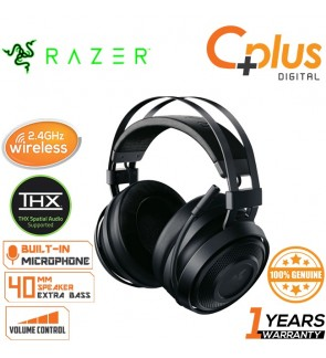Razer Nari Essential 2.4GHz Wireless THX Spatial Audio Gaming Headset Works with PC and PS4