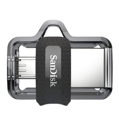 SanDisk Ultra Dual Drive M3.0 OTG USB Flash Drive for Android & Computers 16/32/64/128GB