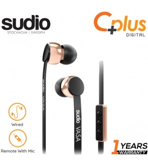 SUDIO - Vasa In Ear Earphone with Mic