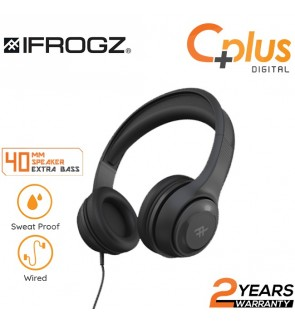 iFrogz Aurora Wired On-Ear Headphones with Mic
