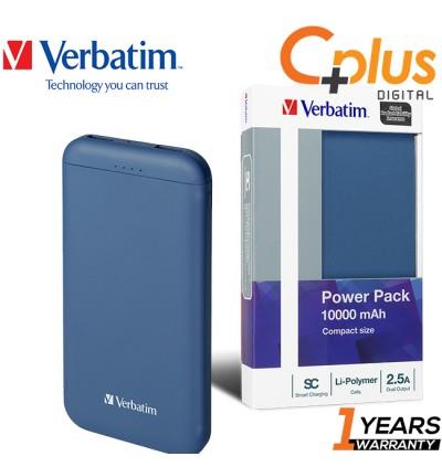 Verbatim Li-polymer 10,000mah Compact Size Power Bank