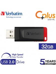 Verbatim New Slider 32GB USB 2.0 Flash Drive