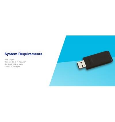 Verbatim New Slider USB 2.0 Flash Drive 16GB/32GB