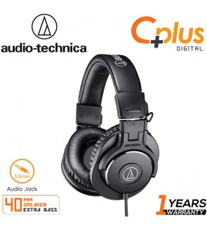 Audio Technica ATH-M30X Professional Monitor Wired Headphones
