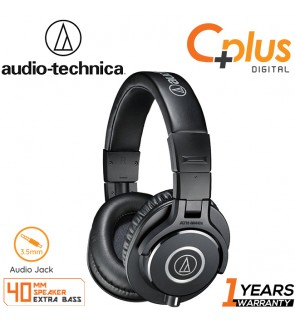 Audio Technica ATH-M40X Professional Monitor Wired Headphones