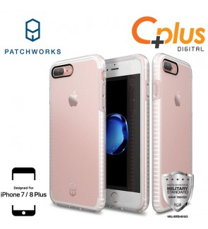 Patchworks Level Clear Case for iPhone 7 Plus / 8 Plus