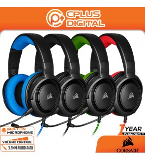 Corsair HS35 - Stereo Gaming Headset - Memory Foam Earcups - Headphones Designed for Switch, PC and Mobile