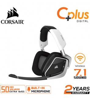 Corsair Void Pro RGB Wireless Gaming Dolby 7.1 Surround Sound Headset for PC - Discord Certified - 50mm Drivers