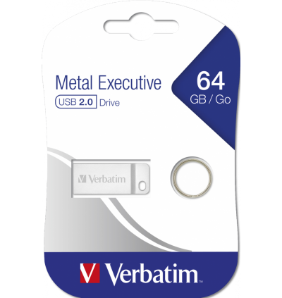 Verbatim Metal Executive USB2.0 Pendrive 64GB