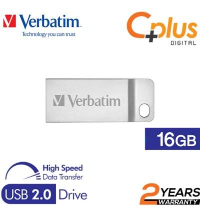 Verbatim Metal Executive USB2.0 Pendrive 16GB/32GB/64GB