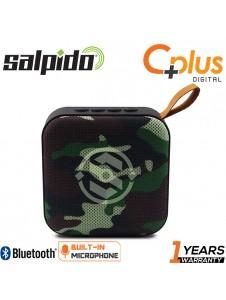 Salpido S5 Bluetooth Portable Speaker with FM/Radio, MicroSD