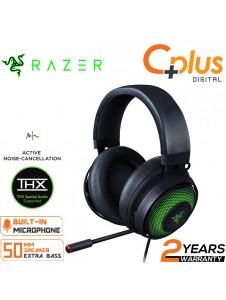 Razer Kraken Ultimate RGB USB Gaming Headset: THX 7.1 Spatial Surround Sound - Chroma RGB Lighting - Retractable Active Noise Cancelling Mic