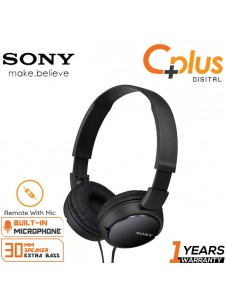 Sony MDR-ZX110AP Foldable Portable On-Ear Headphone with Microphone