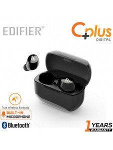 Edifier TWS1 True Wireless Bluetooth v5.0 Earbuds - Up to 32 Hour Battery Life with Charging Case and Mic,