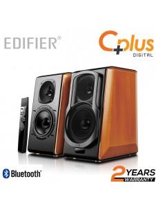 Edifier S2000 Pro Powered Bluetooth Bookshelf Speakers - Near-Field Active Studio Monitor Speaker with Wireless and Optical Input