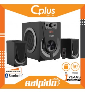 Salpido AMX6 150W Bluetooth Speaker with 2.1 Channel , Support for USB,TF,Radio Function
