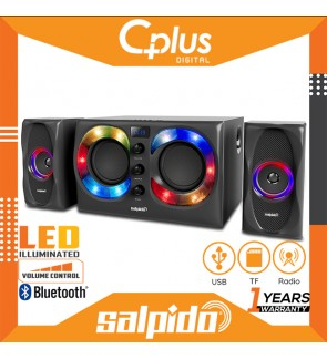 Salpido Arrado 5 100W 2.1 Channel Bluetooth Speaker with Remote Control, Support for USB , TF Cards, Radio Functions