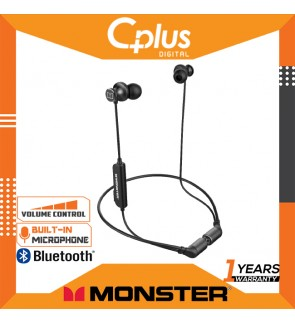 Monster iSport Solitaire Bluetooth Wireless In-Ear Headphone with Mic & Volume Control , UP to 8 Hours