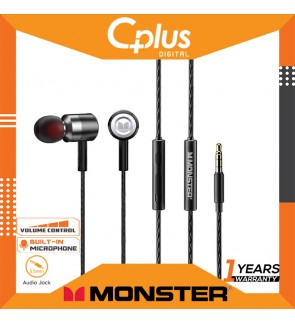 Monster N-Tune 60 In-Ear Wired Headphones (Adaptive Noise Reduction/Length 120cm)